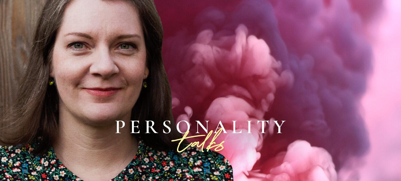 Portrait von Patricia Cammarata verbunden mit dem Personality talk Podcast Header
