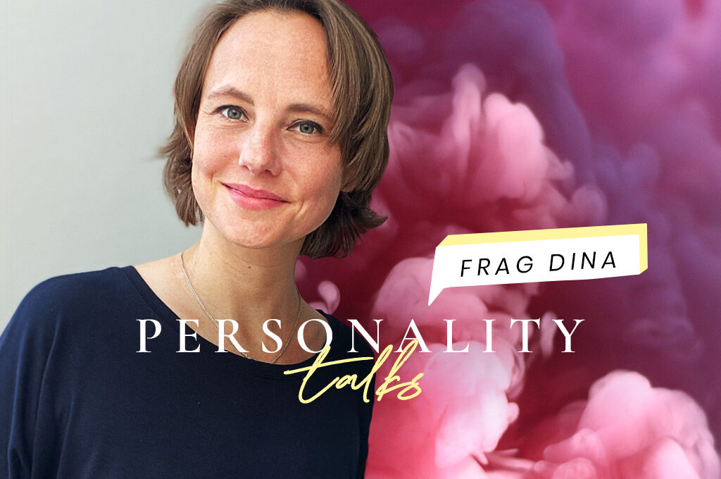 Dina Wittfoth im Personality talks Header