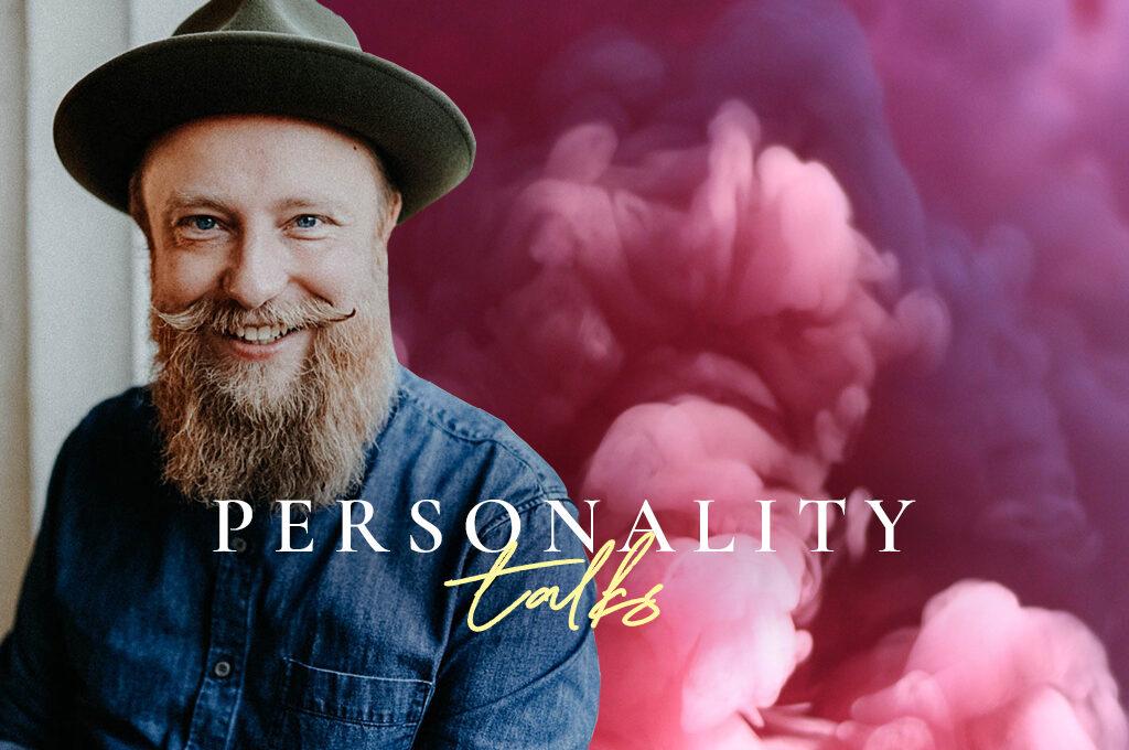 ein Portrait von René Träder im Personality talks Format
